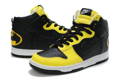 best service 7c776 68a22 batman nike dunk shoes