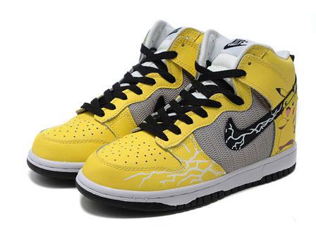 new product 4e4d5 5f67b ... Nike-Dunks-Pikachu-Pokemon-Sneakers-Yellow 1 ...
