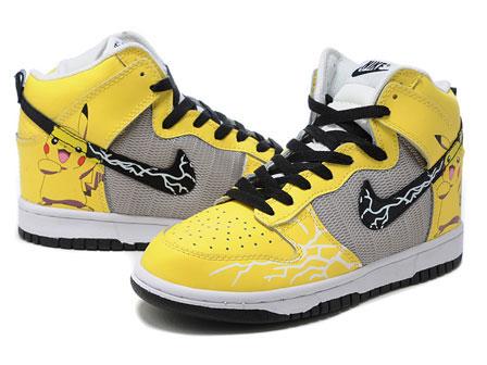 official photos ac23c 83dda ... Nike-Dunks-Pikachu-Pokemon-Sneakers-Yellow 2