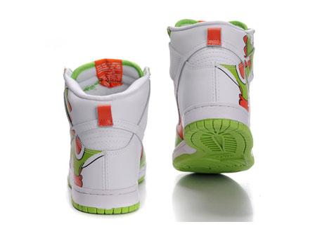 93f0e9c27704 Super Mario Character – Yoshi Shoes Custom Nike SB Dunk