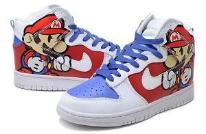 watch e9894 ce487 ... Nike-Super-Mario-High-Top-Cartoon-Dunks2