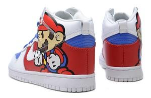 get cheap 8980b a2a04 Nike-Super-Mario-High-Top-Cartoon-Dunks3 ...
